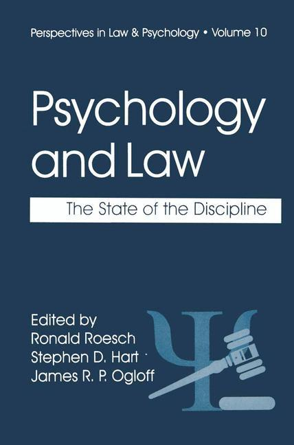 Psychology and Law als Buch