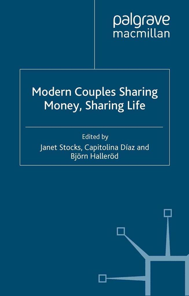 Modern Couples Sharing Money, Sharing Life als ...