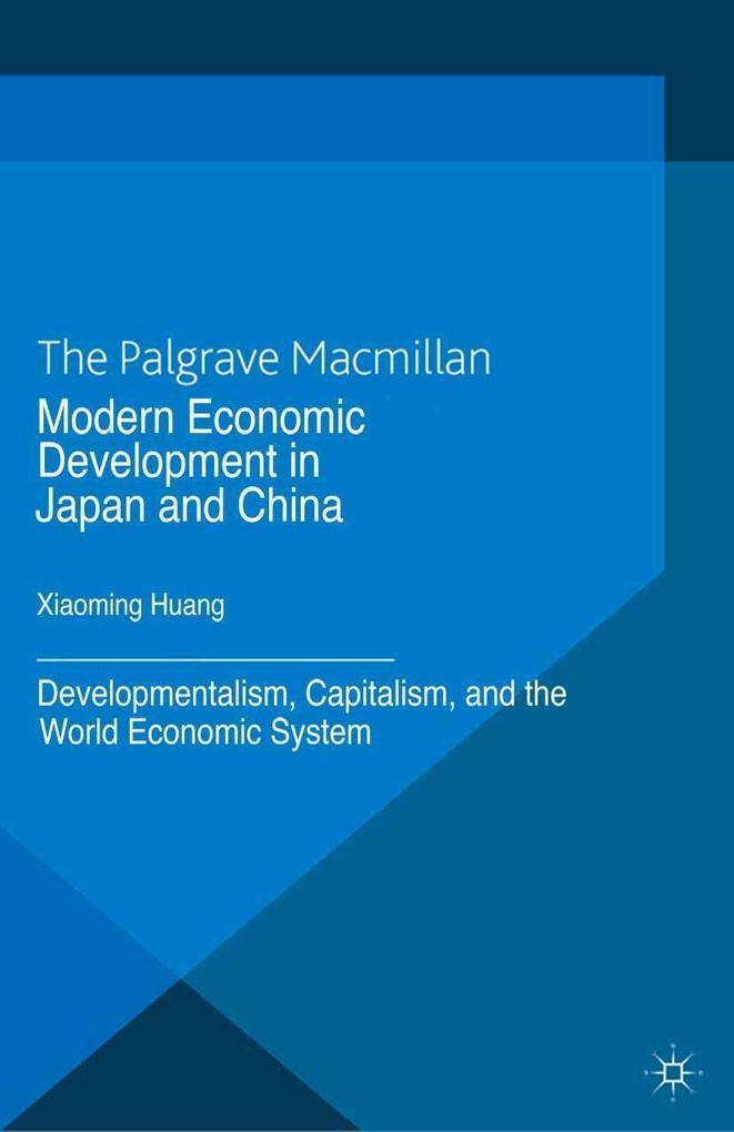 Modern Economic Development in Japan and China ...