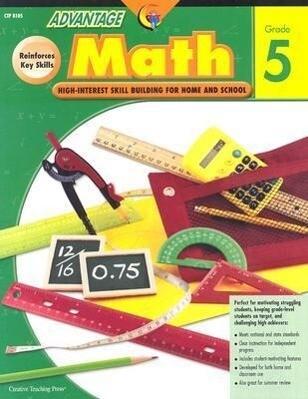 Advantage Math Grade 5 als Taschenbuch