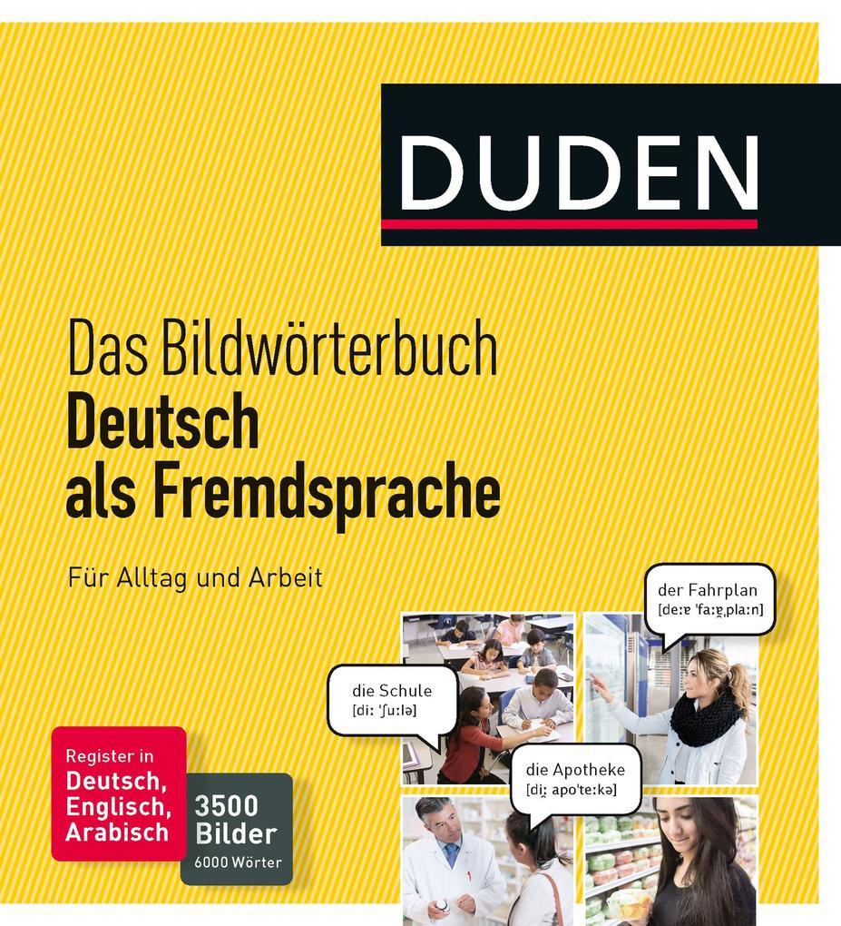 Duden - Das Bildwörterbuch Deutsch als Fremdspr...