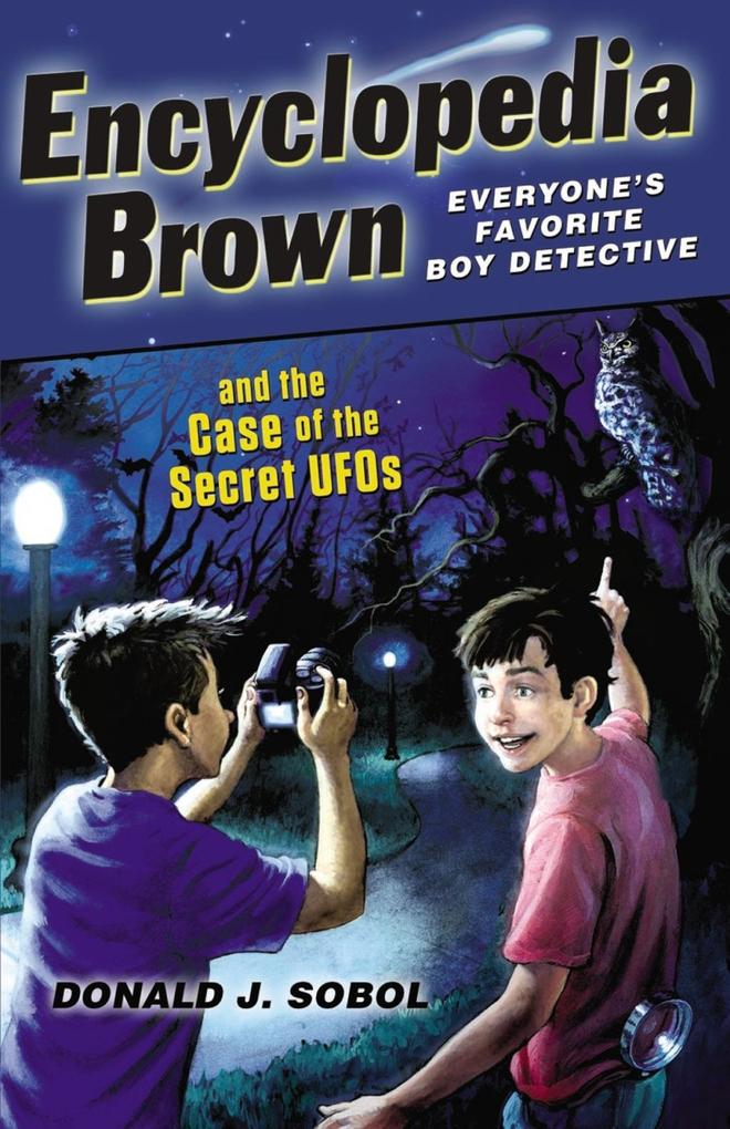 Encyclopedia Brown and the Case of the Secret U...