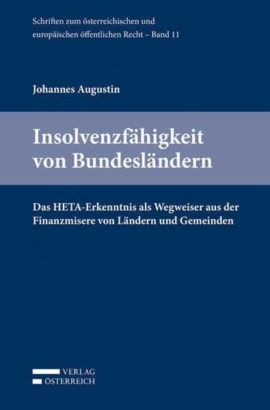 Insolvenzfähigkeit von Bundesländern als Buch v...