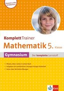 KomplettTrainer Mathematik 5. Klasse Gymnasium