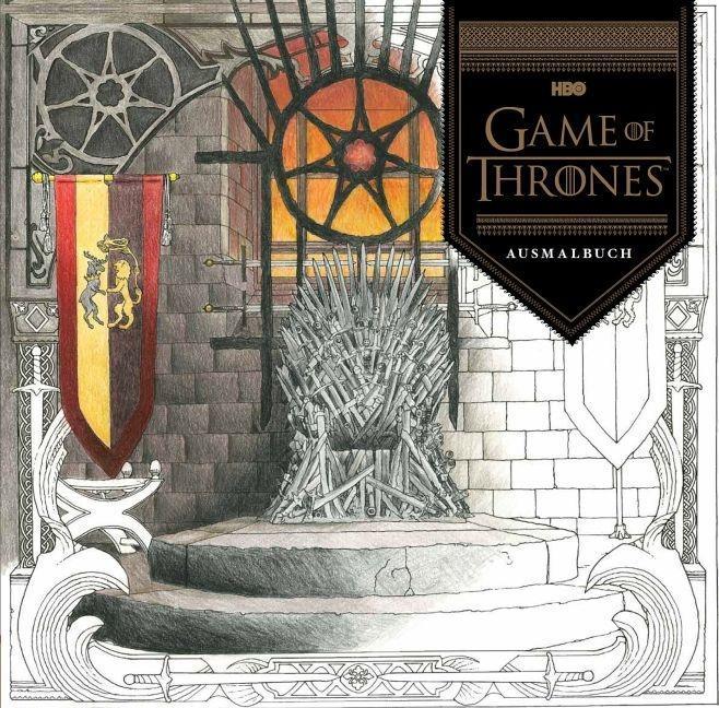 Game of Thrones: Das offizielle Ausmalbuch zur TV-Serie als Buch