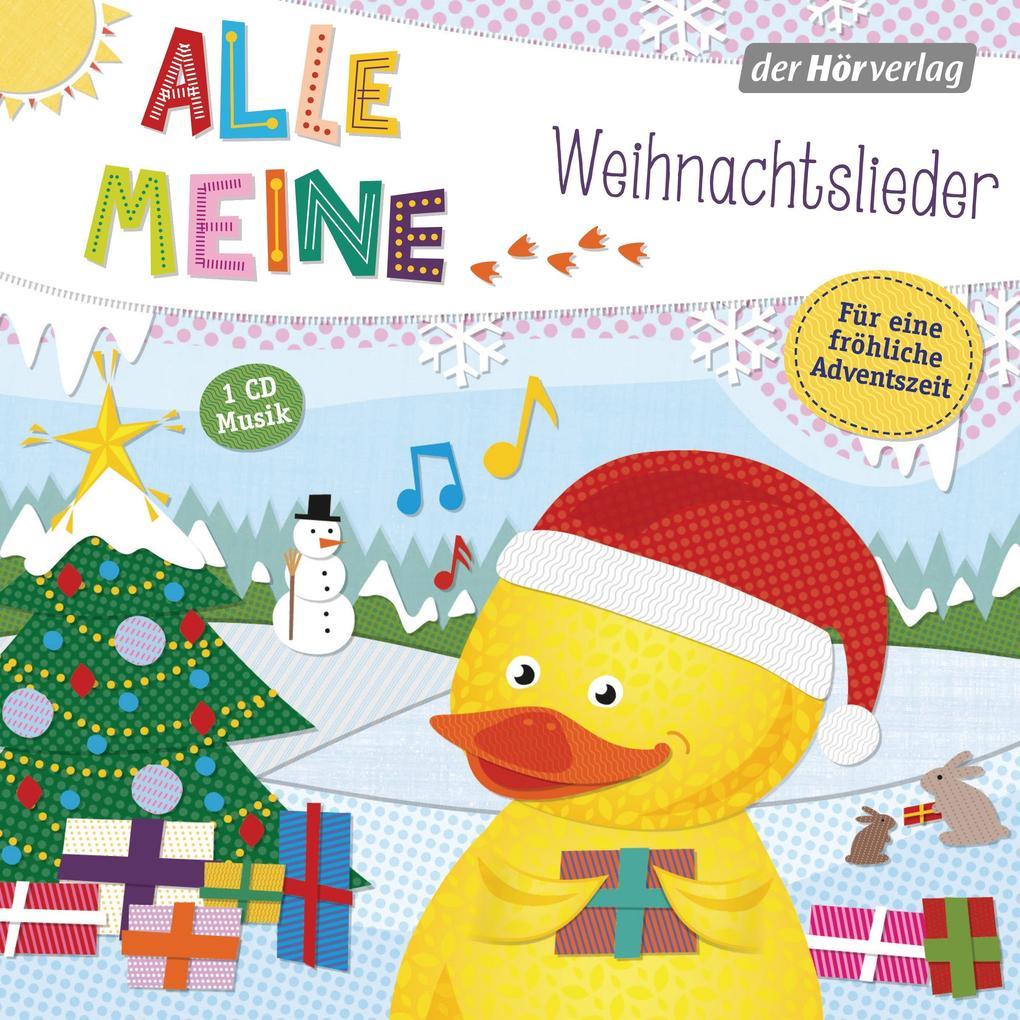 Image of Alle meine Weihnachtslieder