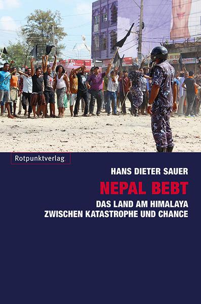 Nepal bebt als Buch von Hans-Dieter Sauer