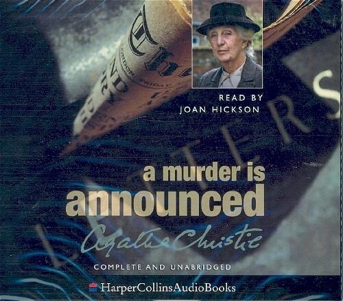 A A Murder is Announced als Hörbuch