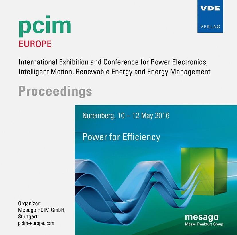 PCIM Europe 2016