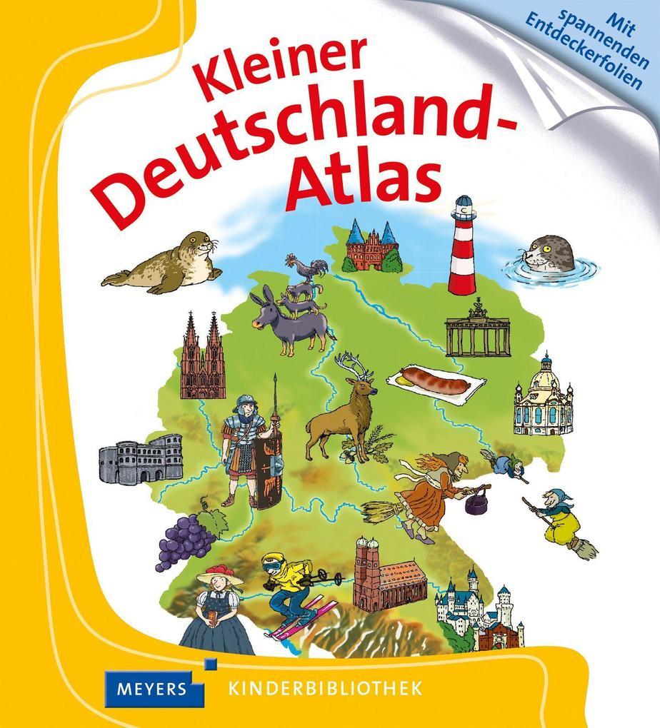 Kleiner Deutschland-Atlas als Buch