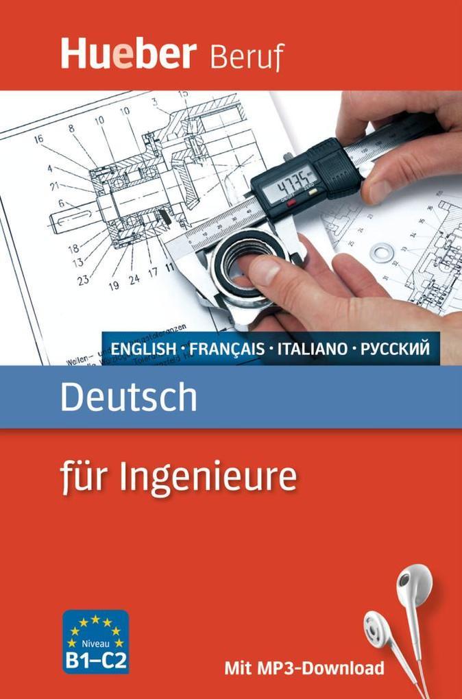 Deutsch für Ingenieure. Englisch, Französisch, ...