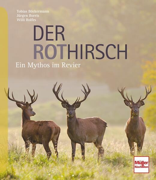 Der Rothirsch als Buch von Willi Rolfes, Tobias...