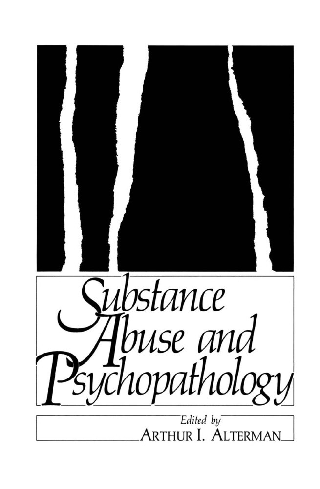 Substance Abuse and Psychopathology als Buch