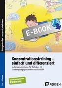 Konzentrationstraining - einfach und differenziert