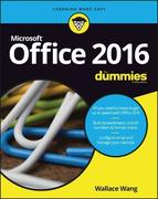 Office 2016 for Dummies Book + Videos Bundle