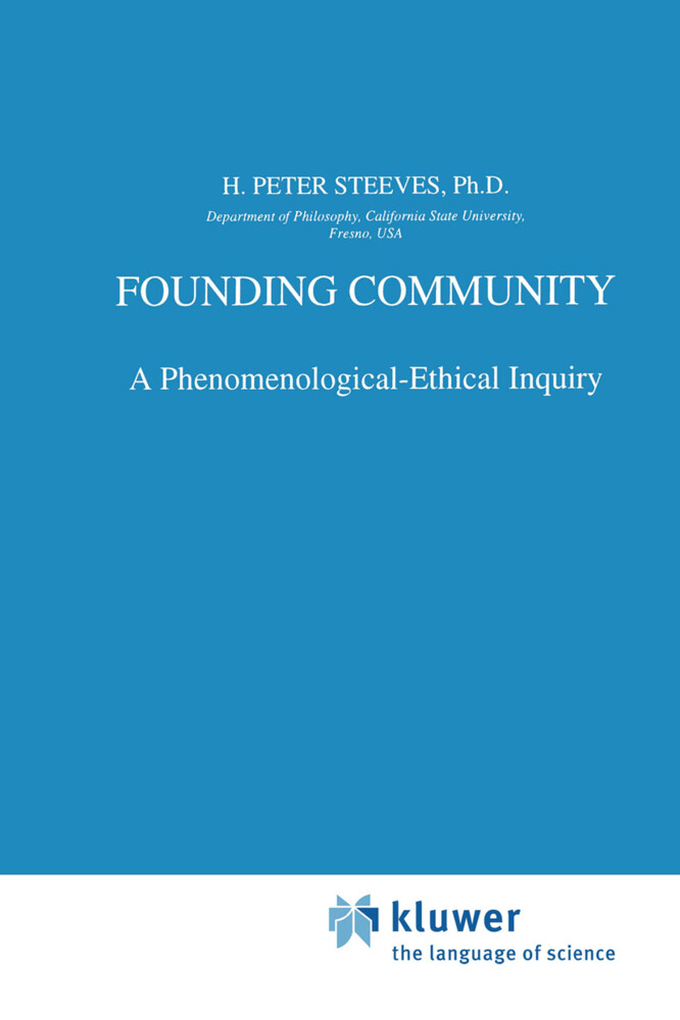 Founding Community als Buch