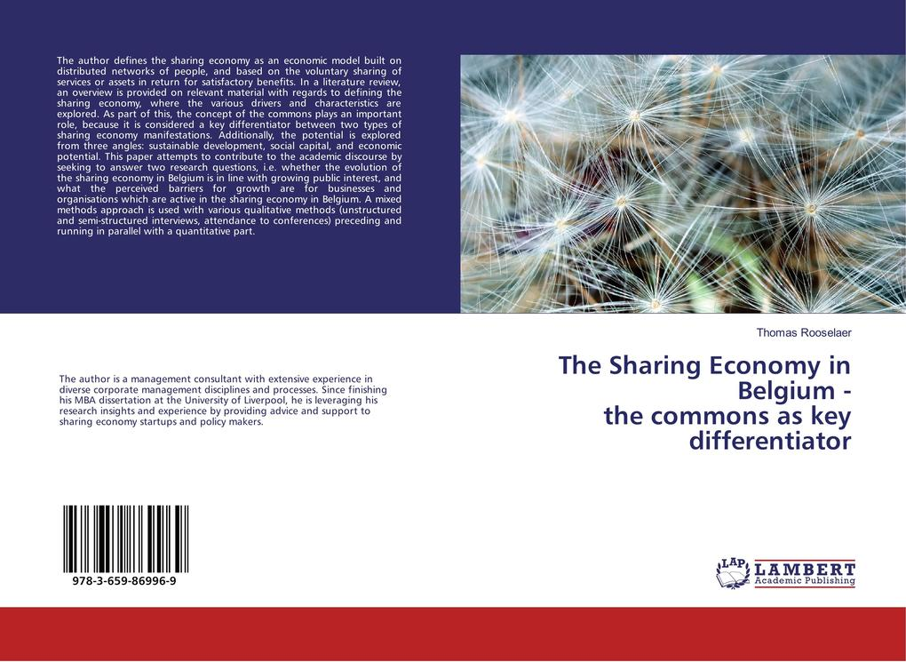 The Sharing Economy in Belgium - the commons as...