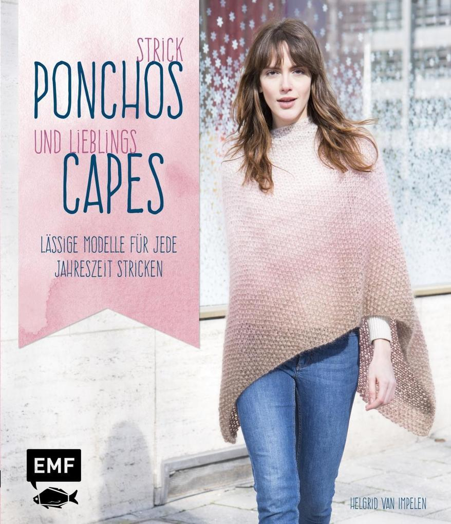 Strick-Ponchos und Lieblings-Capes als Buch von...
