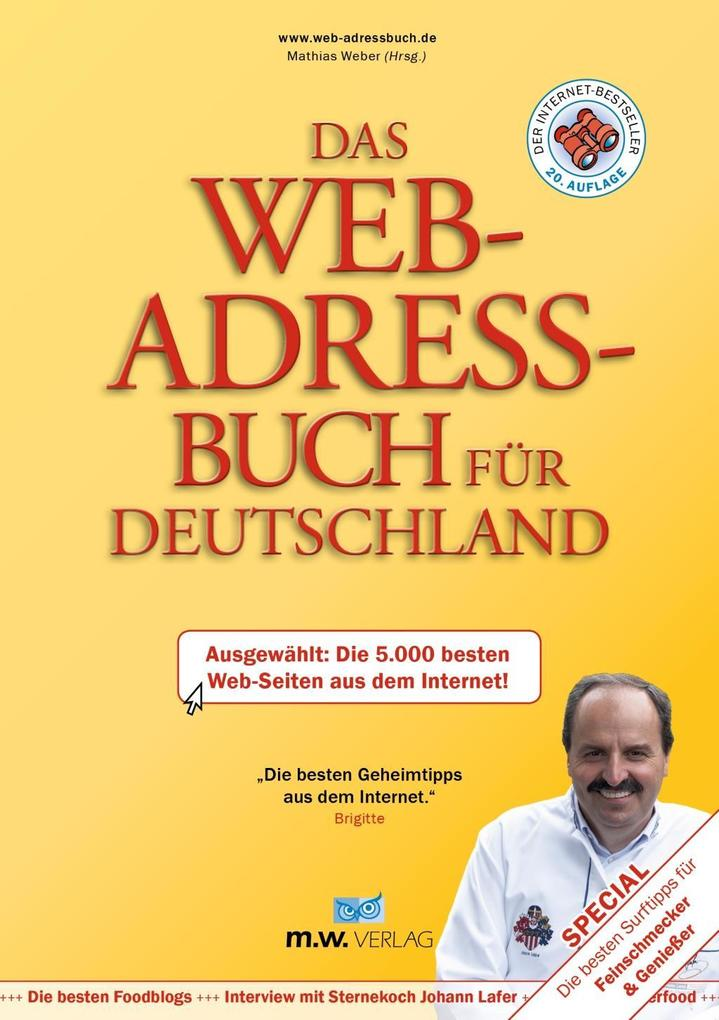 Das Web-Adressbuch für Deutschland 2017 als Buc...