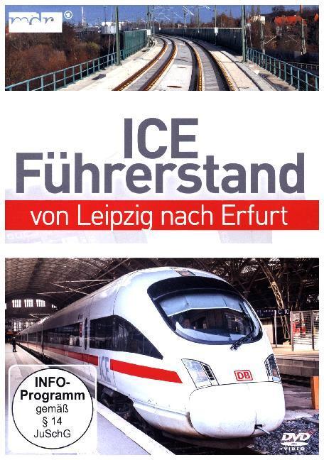 ICE-Führerstand von Leipzig nach Erfurt