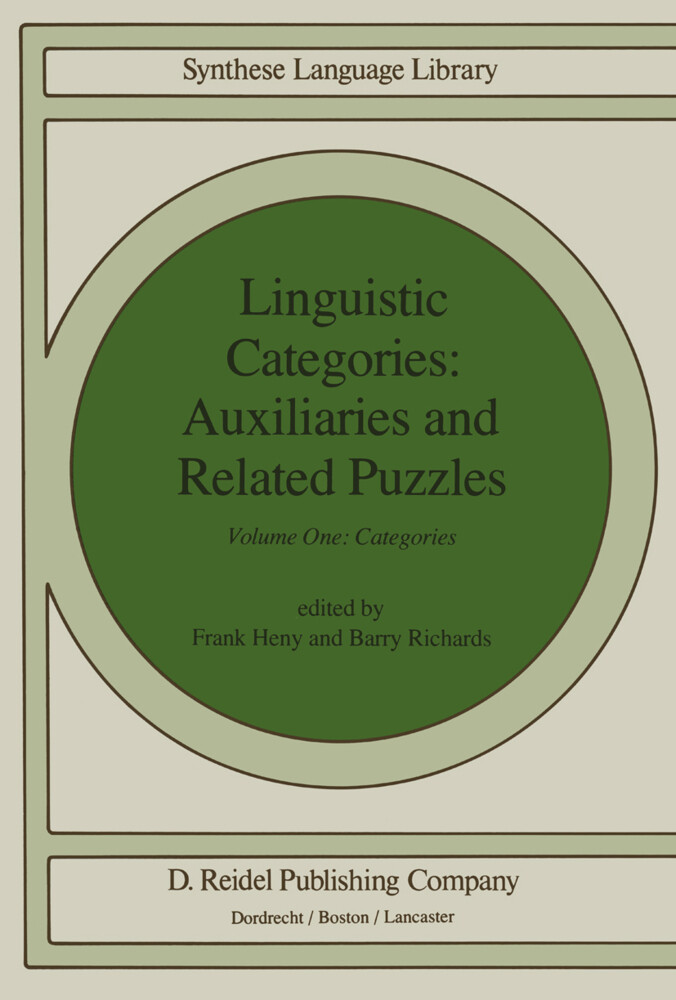 Linguistic Categories: Auxiliaries and Related Puzzles als Buch
