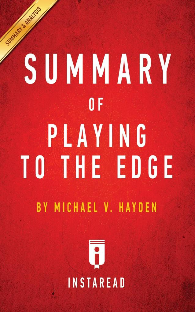 Summary of Playing to the Edge als Buch von Ins...