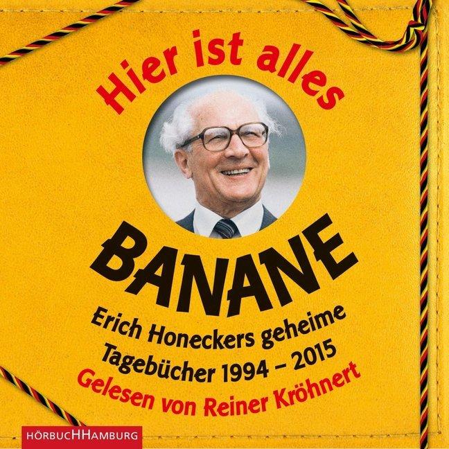 Hier ist alles Banane als Hörbuch CD von