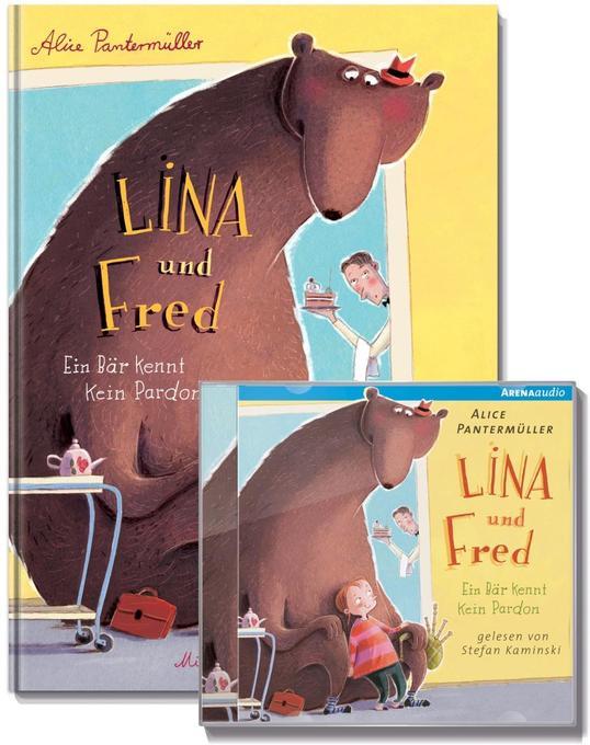 Lina und Fred. Ein Bär kennt kein Pardon, m. Audio-CD als Mängelexemplar
