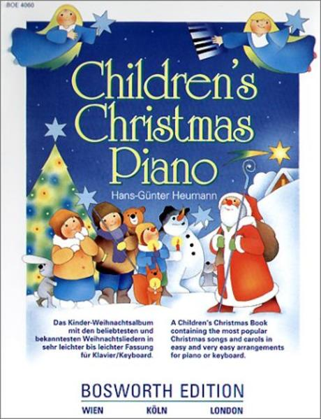 Children's Christmas Piano als Buch
