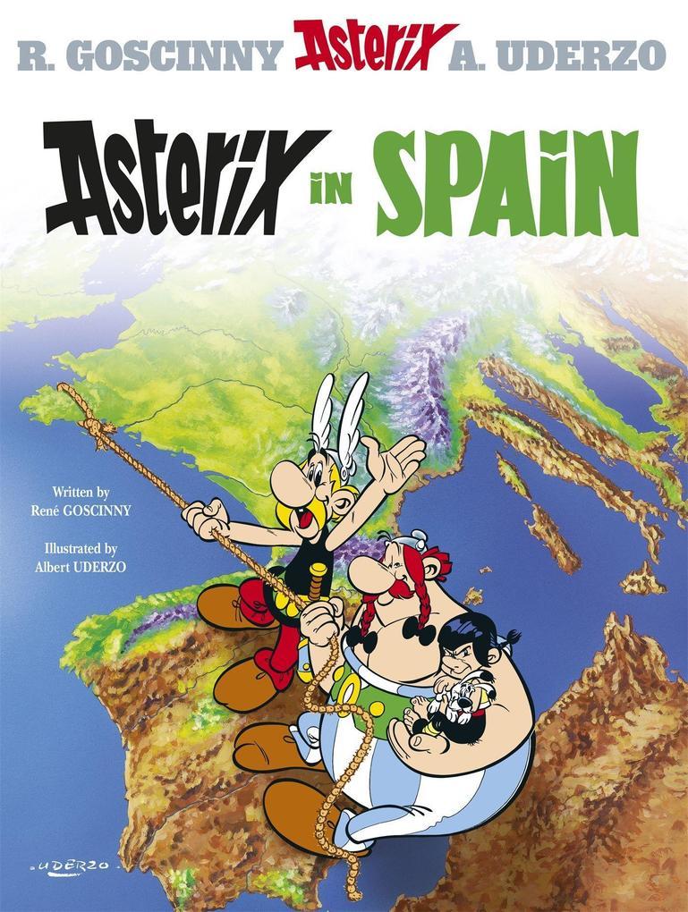 Asterix in Spain als Buch