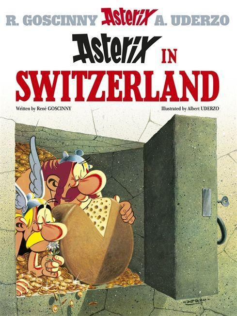 Asterix 16 in Switzerland als Buch