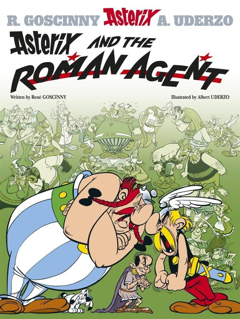 Asterix and the Roman Agent als Buch