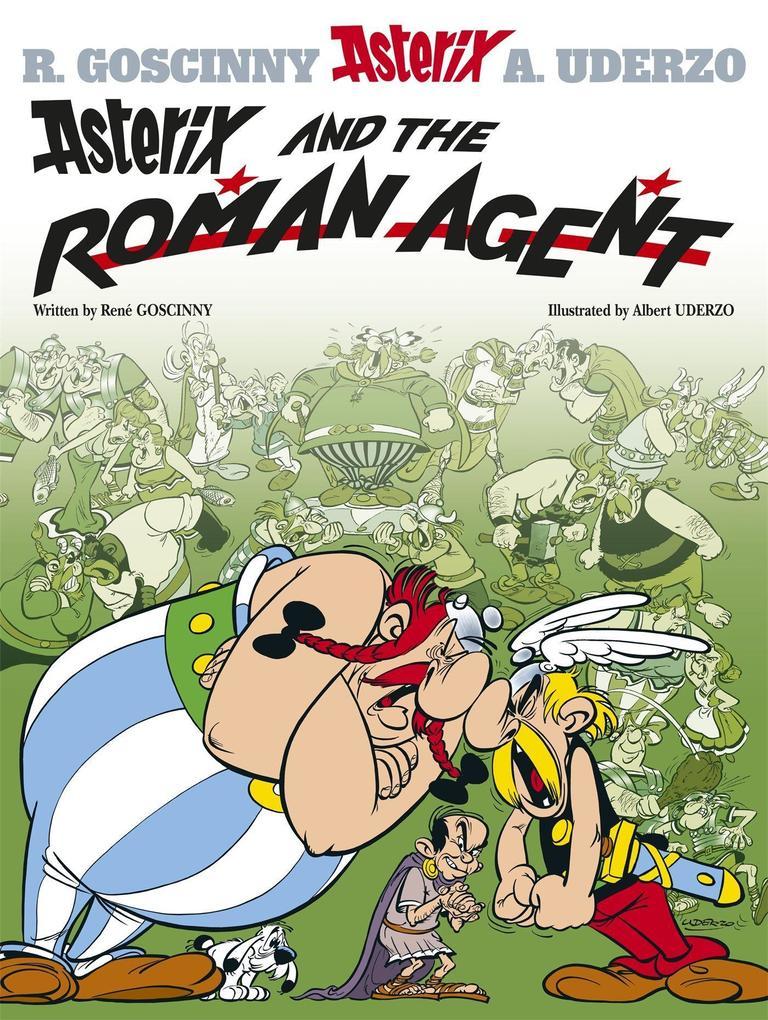 Asterix: Asterix and the Roman Agent als Buch