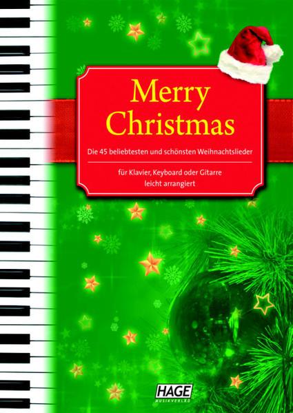 Merry Christmas für Klavier, Keyboard oder Gitarre als Buch