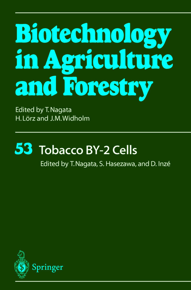 Tobacco BY-2 Cells als Buch