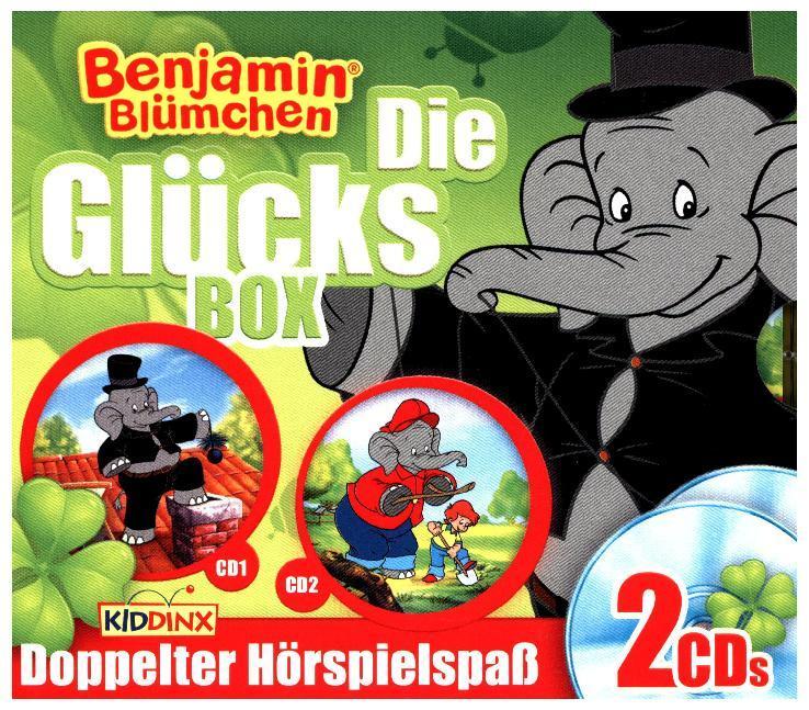 Benjamin Blümchen. Glücks-Box als Hörbuch CD von
