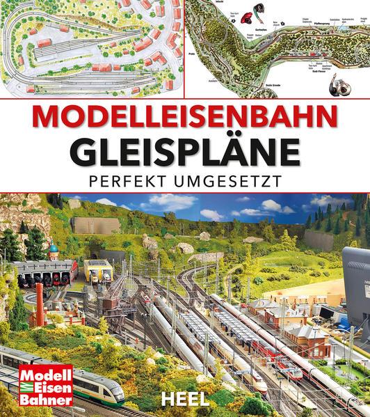 Modelleisenbahn Gleispläne als Buch