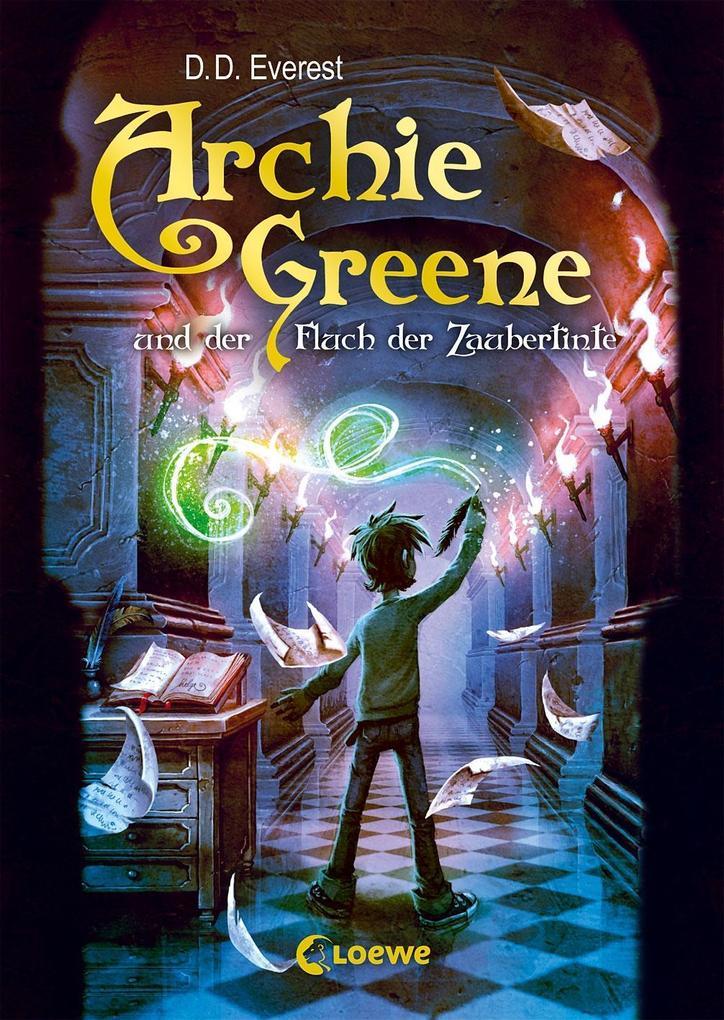 Archie Greene und der Fluch der Zaubertinte als Buch