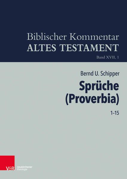 Sprüche Salomos (Proverbia) (Spr (Prov) 1-15) als Buch (gebunden)