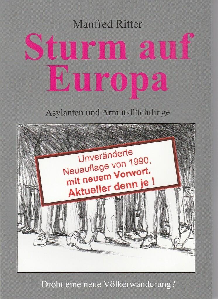 Sturm auf Europa als eBook Download von Manfred...