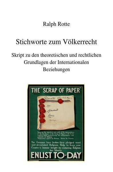 Stichworte zum Völkerrecht als Buch (kartoniert)