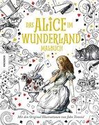 Das Alice im Wunderland Malbuch