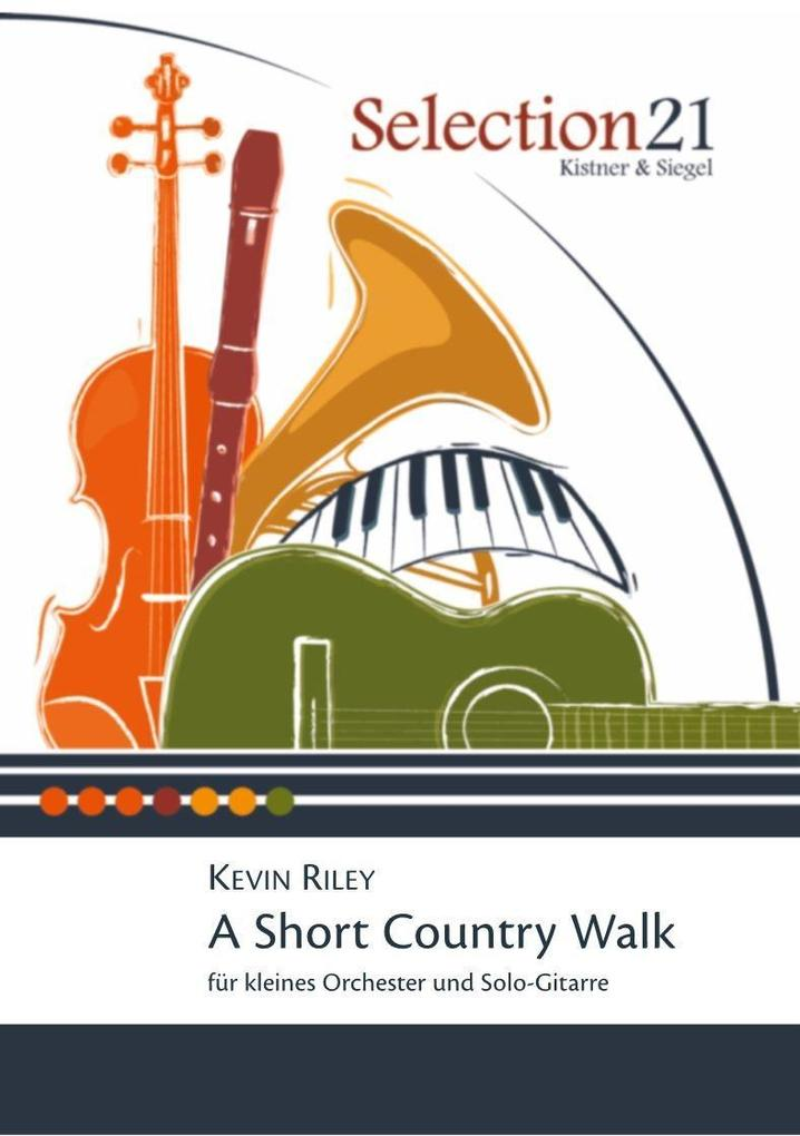 A Short Country Walk als Buch von Kevin Riley