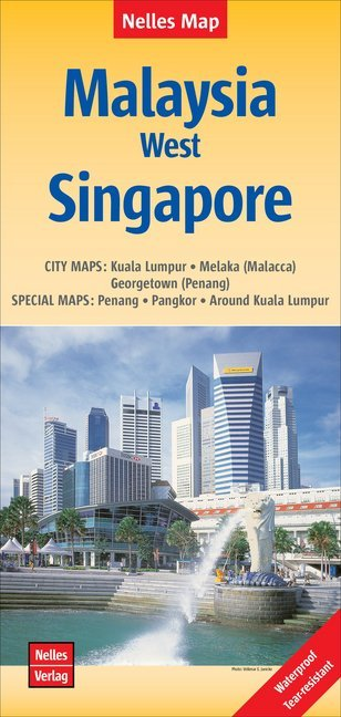 Nelles Map Malaysia: West, Singapore 1 : 1 500 ...