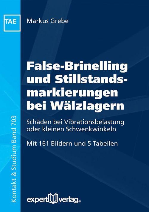False-Brinelling und Stillstandsmarkierungen bei Wälzlagern als Buch