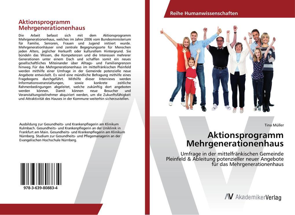 Aktionsprogramm Mehrgenerationenhaus als Buch v...