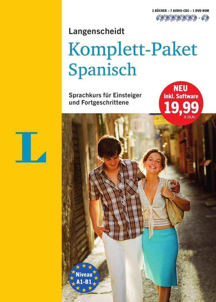 Langenscheidt Komplett-Paket Spanisch - Sprachkurs mit 2 Büchern, 7 Audio-CDs, 1 DVD-ROM, MP3-Download als Buch