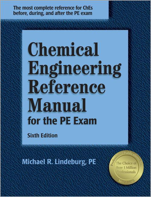 Chemical Engineering Reference Manual for the PE Exam als Buch
