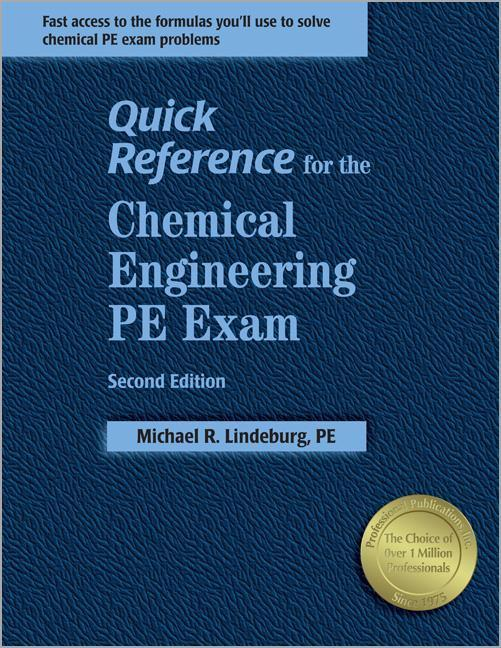 Quick Reference for the Chemical Engineering PE Exam als Taschenbuch