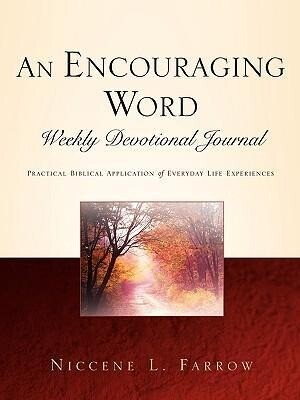 An Encouraging Word Weekly Devotional Journal als Taschenbuch